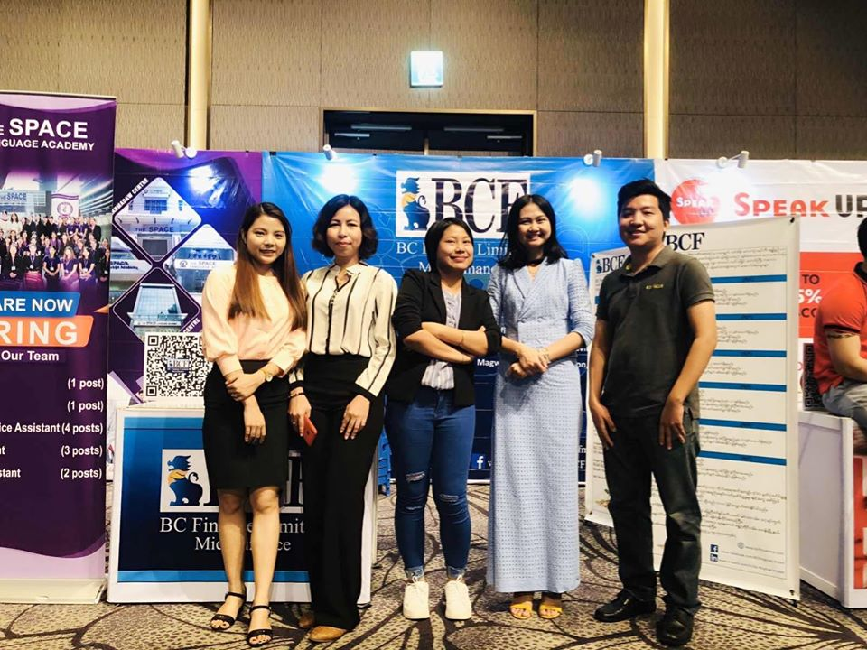 BCF participated in Yangon Digital Job Expo and Career Conference 2020